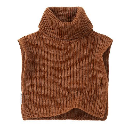 Mingo Mingo | Soft Knit Collar | Pecan (col bruin)