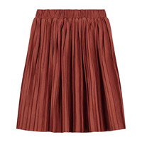 Daily Brat | Donna Plisse skirt | Rustic Red
