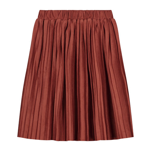 Daily Brat Daily Brat | Donna Plisse skirt | Rustic Red