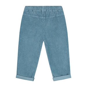 Daily Brat Daily Brat | Ewan corduroy trainer pants | Forest Blue
