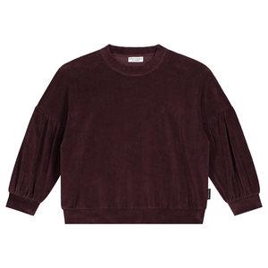 Daily Brat Daily Brat | Marant velour sweater | Deep Mahogany