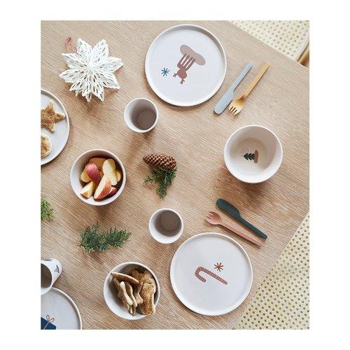 Liewood Liewood   Patrick Bamboo plates Holiday Mix   6 pack bamboe bordjes