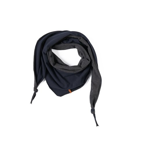 Nixnut Nixnut | Triangle Scarf | Night Antracite sjaal