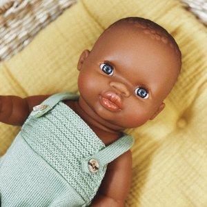 Paola Reina Paola Reina | Gordi  Babypop Meisje | Donker met blauwe ogen