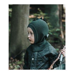Liewood Liewood | Mads Knit hat Hunter Green | Bivakmuts