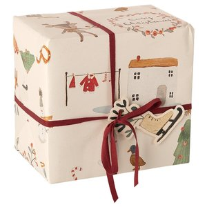 Maileg Maileg | Inpakpapier Cozy Christmas 0,55 x 10m
