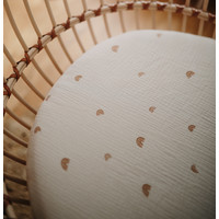 Mushie   Crib Sheet   Ledikant hoeslaken 60x120