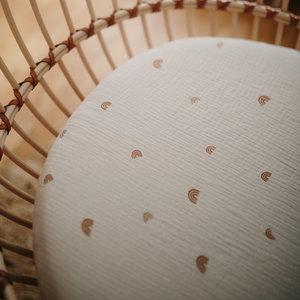 Mushie Mushie | Crib Sheet | Ledikant hoeslaken 60x120