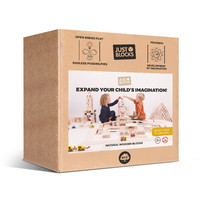 Just Blocks | Wooden blocks small pack (74 pieces) (pre-order)