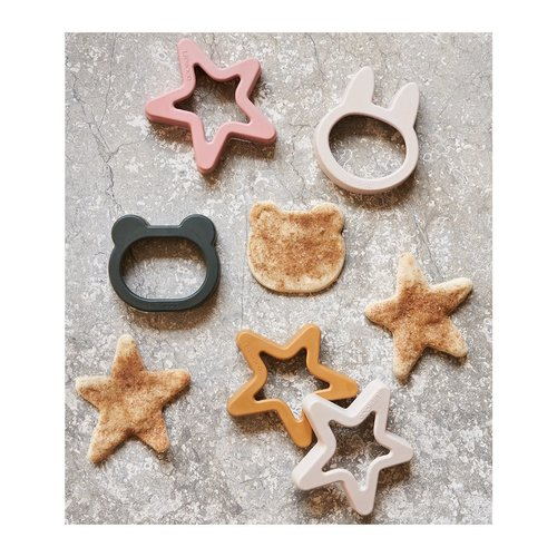Liewood Liewood | Andy Cookie Cutter 6-pack