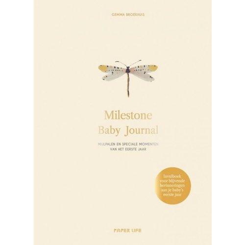 Overig Milestone | Baby Journal invulboek