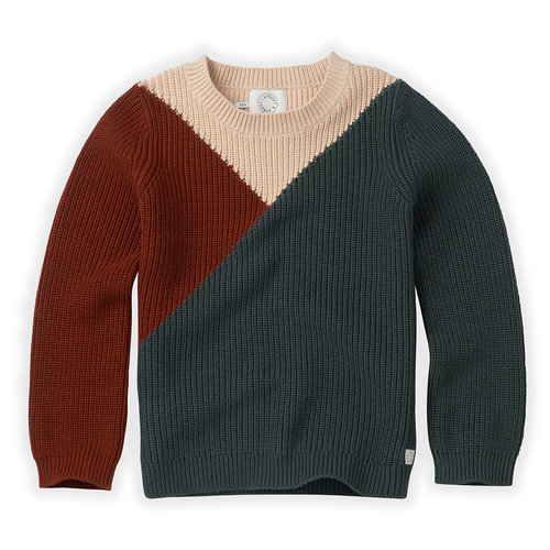 Sproet & Sprout Sproet & Sprout | Knitted Sweater Colourblock
