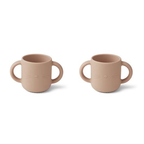 Liewood Liewood | Gene silicone cup | Drinkbeker met oortjes