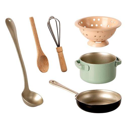 Maileg Maileg | Cooking set | Keuken gasfornuis