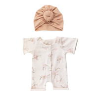 Bonjour Little | Poppen outfit | Pansies