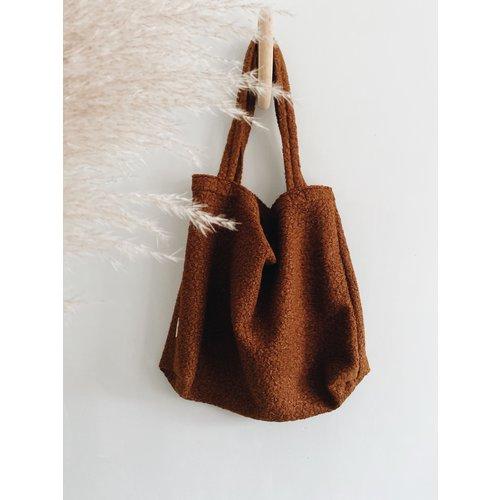 Studio Noos Studio Noos | Cacao Bouclé mom-bag