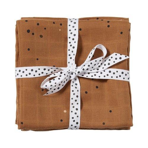 Done By Deer Done By Deer | 2-pack hydrofiel doeken | Dreamy dots