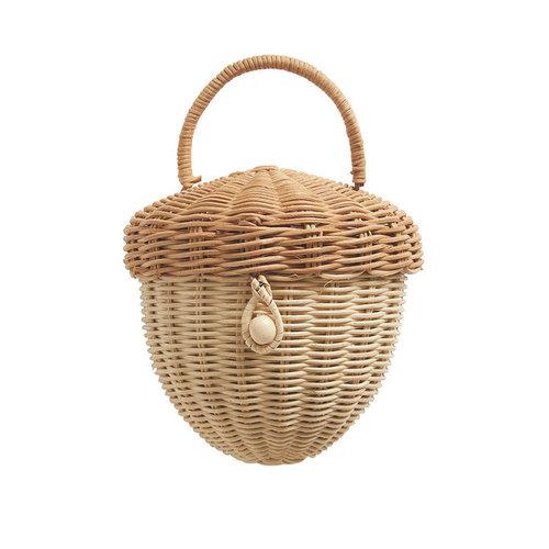 Olli Ella Olli Ella | Acorn bag | Rotan eikel tasje