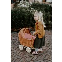 Daily Brat | Nova paperbag Plisse skirt | Dark Olive