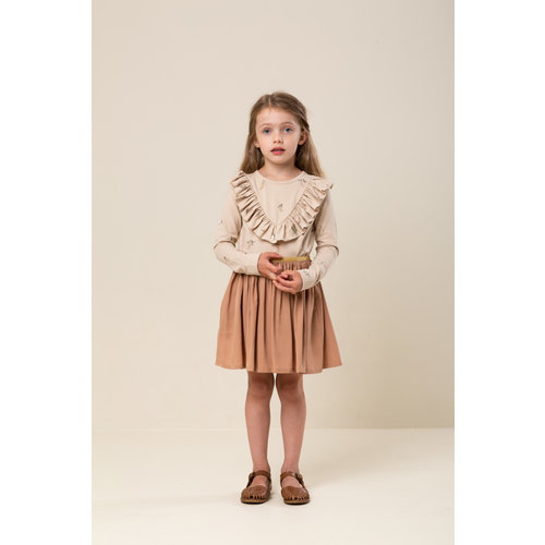 MarMar MarMar | Sus lyocell skirt | Rokje Rose Brown