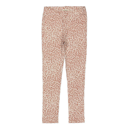 MarMar MarMar | Leo Leg Pants | Rose brown leopard legging