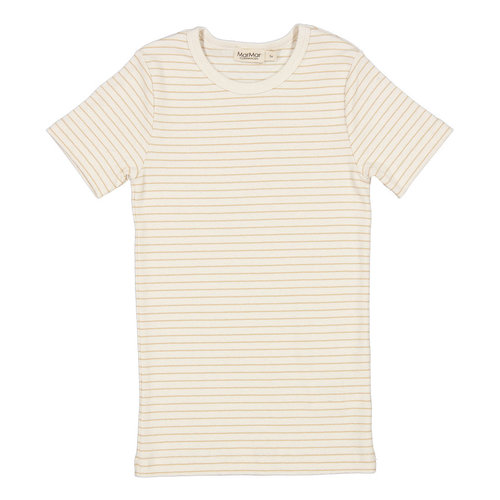 MarMar MarMar | Tago Tee fine rib t-shirt | 1232 Hay Stripe