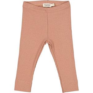 MarMar MarMar | Leg rib legging | 0384 Rose Brown