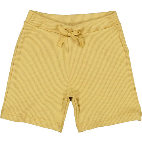 MarMar MarMar | Pants rib korte broek | 0211 Hay