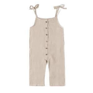 Nixnut Nixnut | Button suit jumpsuit | Sand