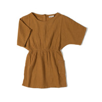Nixnut   Flow Dress   Jurk Caramel