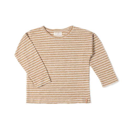 Nixnut Nixnut | Be longsleeve | Stripe Dust Caramel