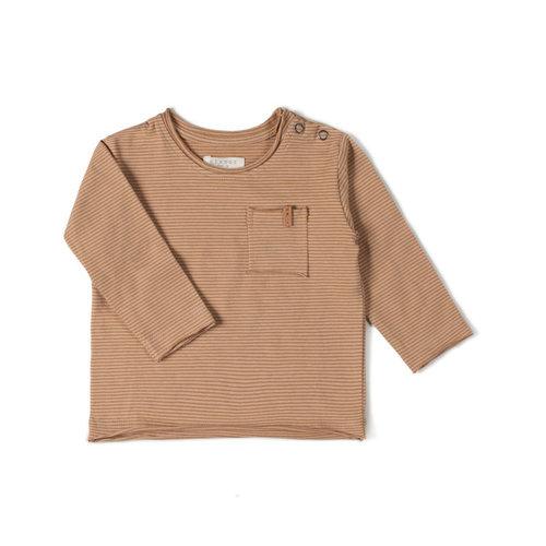 Nixnut Nixnut | Longsleeve Stripe | Nude Caramel