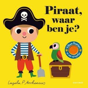 Boeken Piraat, waar ben je? Flapjesboek