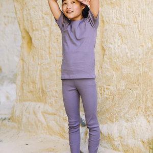 Mingo kids Mingo | Rib Legging | Lavender