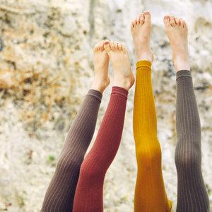 Mingo kids Mingo | Sockless tights | Maillot zonder voetjes | Sienna Rose