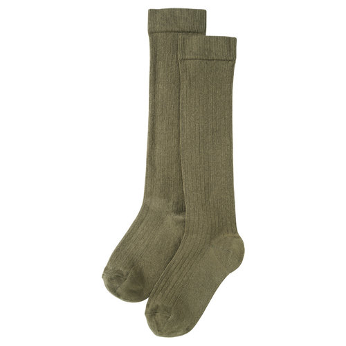 Mingo kids Mingo | Knee socks | Kniesokken Sage Green