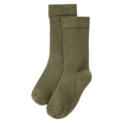 Mingo kids Mingo | Socks | Sokken Sage Green