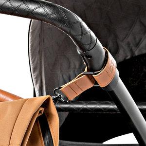 Dusq Dusq | Leren stroller straps