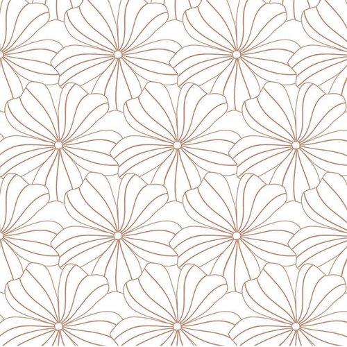 Swedish Linens Swedish Linens | Hoeslaken Flowers | White