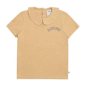 CarlijnQ CarlijnQ | T-shirt Collar | Have Fun print