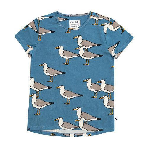 CarlijnQ CarlijnQ | Seagull | T-shirt Zeemeeuw