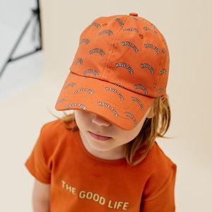 CarlijnQ CarlijnQ | The Good Life | Roestbruin T-shirt