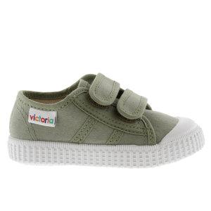 Victoria Victoria | 136606 | Lage Sneakers klittenband | Aloe groen