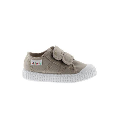 Victoria Victoria | 136606 | Lage Sneakers klittenband | Beige