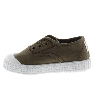 Victoria Victoria | 106627 | Lage Sneakers elastiek | Militar donkergroen