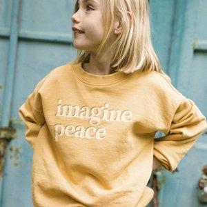 Ammehoela Ammehoela | Rocky.19 | Sweater peace geel