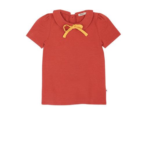 Ammehoela Ammehoela | Remmy.01 | Collar t-shirt cinnebar