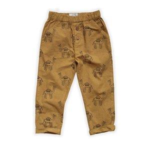Sproet & Sprout Sproet & Sprout   Woven Pants Camel Print   Desert kameel