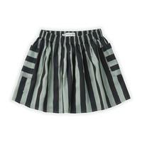 Sproet & Sprout | Skirt Painted Stripe | Eucalyptus rok