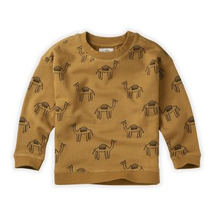 Sproet & Sprout Sproet & Sprout | Sweatshirt Print Camel | Desert kameel